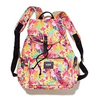 Amazon.com : Victoria's Secret PINK Backpack Hawaiian Floral ...