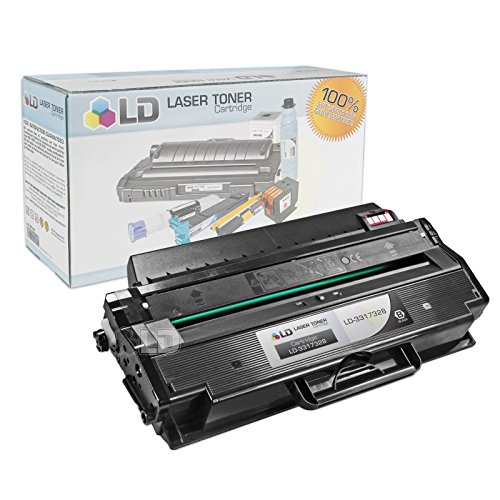 LD Compatible Toner Cartridge Replacement for Dell 331-7328 DRYXV (Black)