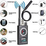 #LightningDeal Anti Spy RF Detector Wireless Bug Detector Signal for Hidden Camera Laser Lens GSM Listening Device Finder Radar Radio Scanner Wireless Signal Alarm¡