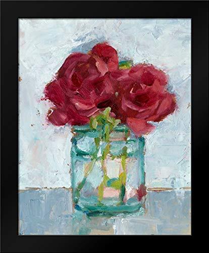 Impressionist Floral Study IV 15x18 Framed Art Print by Harper, Ethan
