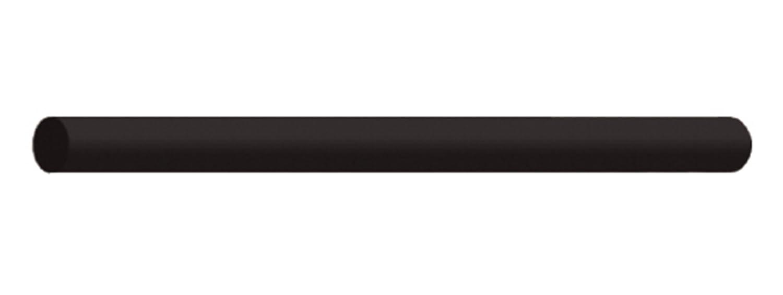 Round Coarse Black Dedeco 0232 Rubberized Abrasive Block//Stick Silicon Carbide 6 x 5//16