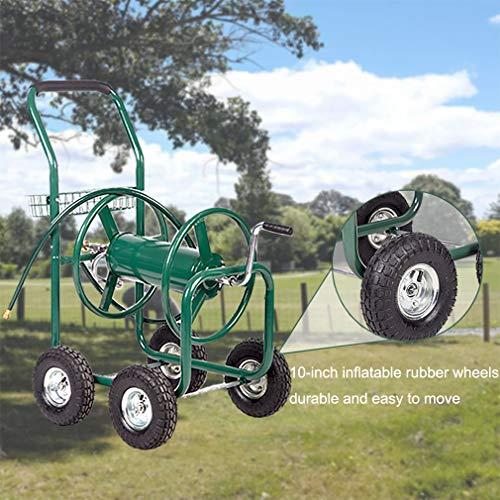 BestMassage Garden Water Reel Cart with Hose Water Planting