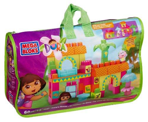 Nickelodeon Mega Bloks Dora's House (Dora The Explorer Talking Doll)
