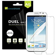 GreatShield Ultra Anti-Glare (Matte) Screen Protector Guard for Samsung Galaxy Note 2 II - LIFETIME WARRANTY