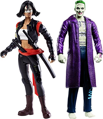 Super Hero Multiverse Suicide Squad Katana Figure Vs Multiverse Suicide Squad The Joker Figure