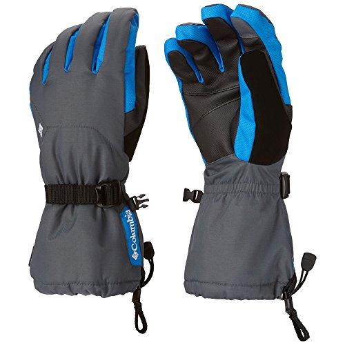 Columbia Sportswear Men's Bugaboo Interchange Glove, Graphite/Hyper Blue, Small