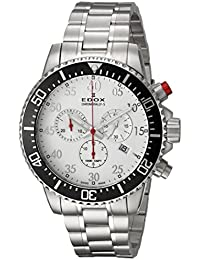 Men's 'Chronorally-S' Quartz Stainless Steel Sport Watch, Color:Silver-Toned (Model: 10227 3M ABN)