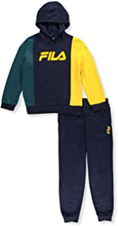 Fila Boys' Colorblock 2-Piece Sweatsuit Pants Set
