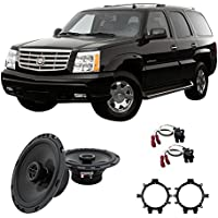 Fits Cadillac Escalade 2003-2006 Front Door Replacement Harmony HA-R5 Speakers
