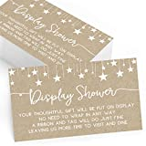 Gift Display Cards for Baby Shower | Set of 25 | Gift Display and Insert Cards | Baby Shower Games, Activities, and Ideas