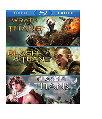 Blu-ray : Clash of Titans / Clash of Titans / Wrath of Titan (3 Pack, 3 Disc)