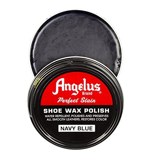Angelus Shoe Wax Polish 3fl Oz (Color Variety) (Navy Blue)