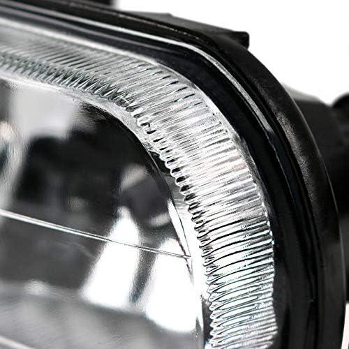Iycorish Nebelscheinwerfer Upgrade Transparentes Nebelscheinwerfer Kit 2001-2007 Mercedes C-Klasse W203 2158200556