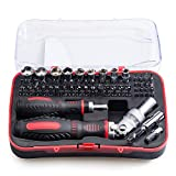 Jenabom 61 in 1 Magnetic Screwdriver Set, Precision Screwdriver Set Wrench Driver Kit, Electronics Repair Tool Kits for iPhone 7 Plus, iPad Tablets, MacBook, PC, Smartphones & Other Electronics