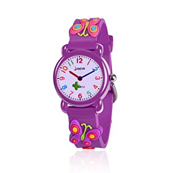 Birthday Gifts Idea Present For 3 12 Year Old Girls 3D Cute Carton Watches