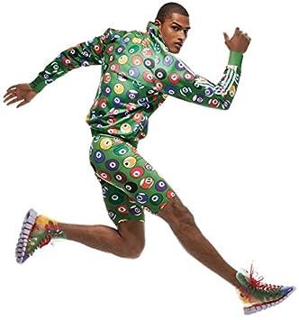 adidas Jeremy Scott Mens Cycling Shorts Billiard (Medium