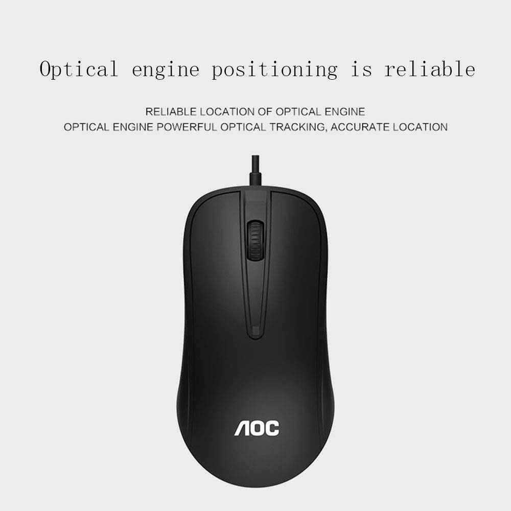 Lee Lam Keyboard Mouse Combo Photoelectric Waterproof 104 Keys Ergonomic Gamer Keyboard 1600DPI Adjust USB Optical Mouse Sets Applicable Objects Household Office Notebook
