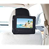 TFY Mount-DVD-7 Care Headrest Mount for Swivel and Flip Style 7-Inch Portable DVD Player