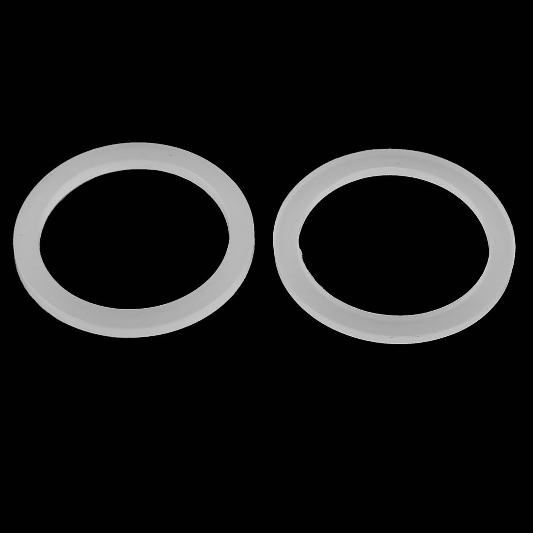 sourcingmap 10 St/ück Wei/ß 48 x 38 x 3mm Silikon O Ring Dichtung Dichtungsringe Dichtungen de