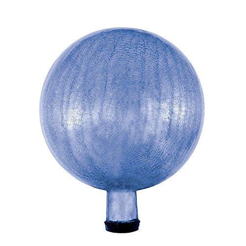 Achla Designs G10-BLL-C Gazing, Blue Lapis 10 inch Glass Garden Globe Ball Sphere, 10-in,