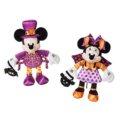 Mickey Mouse and Minnie Mouse Halloween Plush ()
