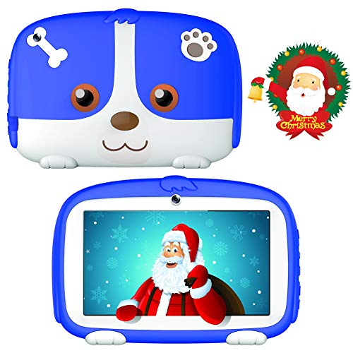 Kids Tablets,7inch Kids Android Tablets for Kids 1G+16G Android9.0 Quad Core Kids Tablets with WiFi Parental Control,Bionic Design with Kids-Proof Case,Protect Kids Eyes
