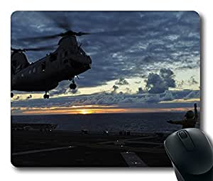 A Sailor Signals A Helicopter Cool Comfortable Gaming Mouse Pad