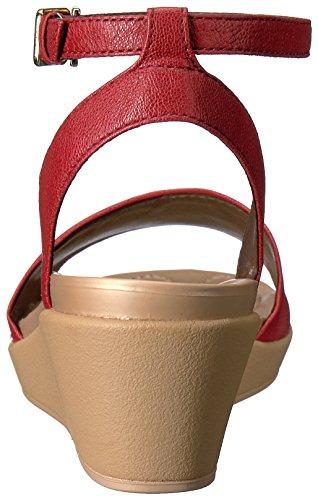 Ankle cuir Ann de cuir plates formes Garnet Strap Les Leigh Crocs en qxwZzF11p
