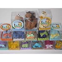 Recuerdos Baby Shower animalitos de toalla 10 piezas