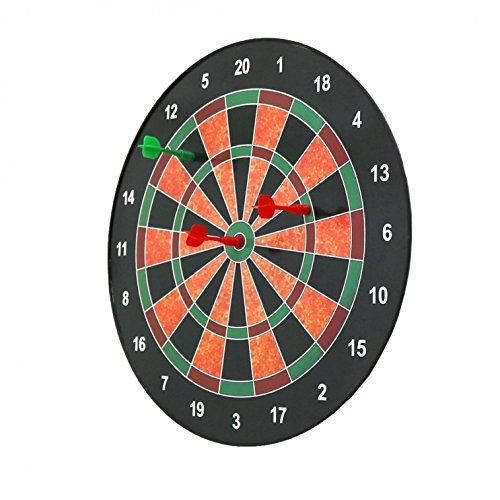 Magnetic Kids Toy Play Dart Board With 6 Darts