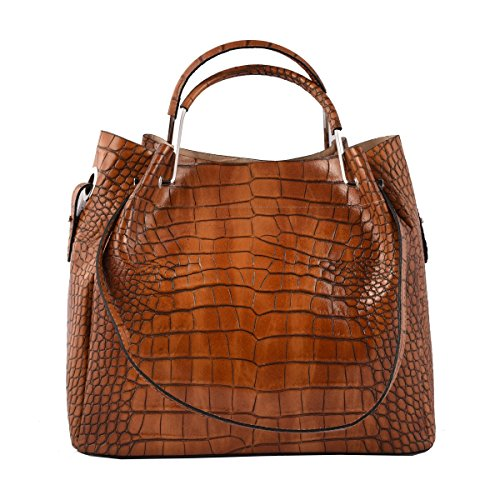 Bandoulière Italie Bags in Italy Cuir Cognac Véritable Leather Maroquinerie Dream Sac Sac Femme Cuir Couleur Véritable En En Fait à Made wSxzqq5U