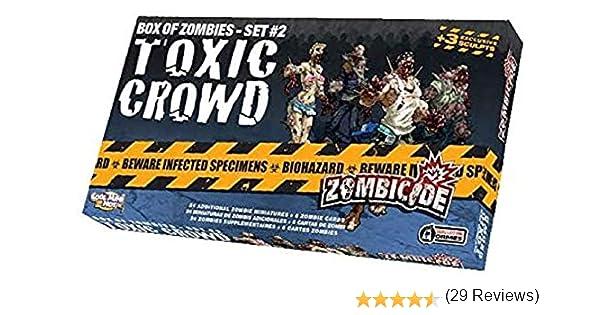 Edge Entertainment - Toxic Crowd, expansión para Zombicide (ZG15): Amazon.es: Juguetes y juegos
