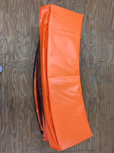 Orange Made In USA 12' Trampoline Frame Pad 12'' Wide by Family Store Network