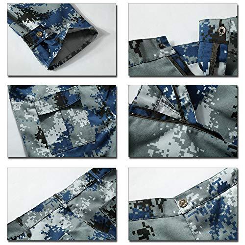 Pantaloni Mimetici Verde Autunnali Invernali Da Bozevon Sciolto Lavoro Militari E T1xwEEqdZ