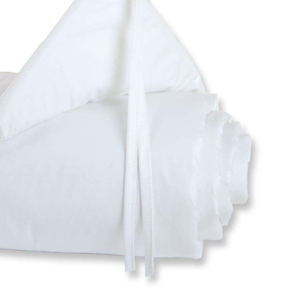wei/ß Boxspring und Comfort babybay Nestchen Cotton passend f/ür Modell Maxi