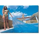 Blue Wave 16-Feet x 32-Feet Rectangular 12-mil Solar Blanket for In Ground Pools, Blue