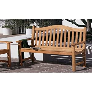 51r7r0jalML._SS300_ 100+ Outdoor Teak Benches