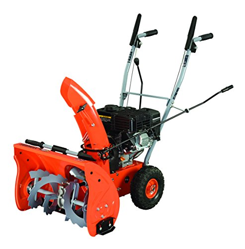 YARDMAX YB5765 Two-Stage Snow Blower, 6.5 hp, 196cc, (Snow Blower Oil)