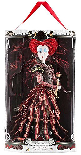 Disney Store Alice Through the Looking Glass Limited Edition Designer 17 Doll - Iracebeth the Red Queen - LE of 4000