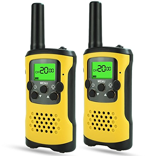 TOP Gift Gifts for 3-12 Year Old Boys, Walkie Talkies for Kids Toys for 3-12 Year Old Boys Toys for 3-12 Year Old Girls 2018 Christmas for Kids Boys Girls 3-12 Yellow TGDJ13