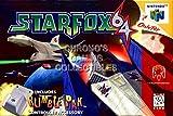 CGC Huge Poster - Star Fox 64 - Nintendo 64 N64 - N64042 (16