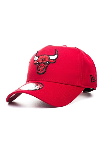Gorra New Era - Nba Team Aframe Chicago Bulls rojo talla  Ajustable   Amazon.es  Ropa y accesorios c4695b98ab6