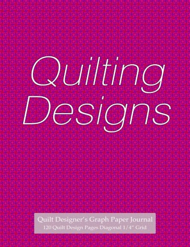 Quilt Designer's Graph Paper Journal 120 Quilt Design Pages 1/4