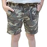 Joe Wenko JWK Toddler Boy' Classic Camo Casual Elastic Waist Fashion Shorts Camo 5T
