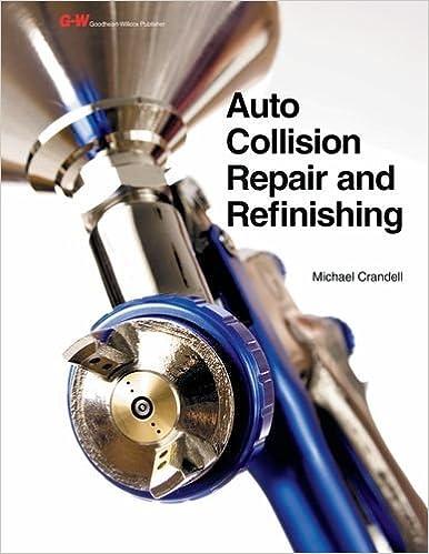 Auto Body Repair Book