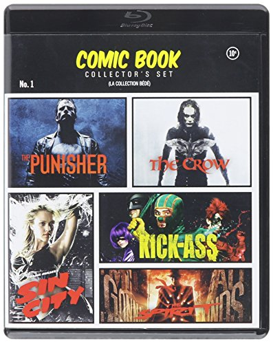 - Comic Book Collector's Set (The Punisher / The Crow / Kick Ass / Sin City / The Spirit)