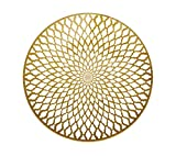 Kim Seybert 15'' Souk Placemat Gold Set of 4