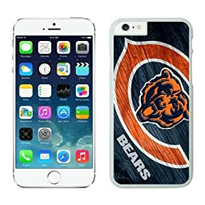 NFL iPhone 6 4.7 Inches Case Chicago Bears White iPhone 6 Cell Phone Case KXWFRTYE0865