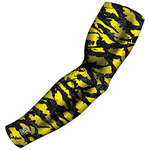 Athletic Arm Sleeve for Baseball Football Basketball and other sports activities. Many Colors and Designs available By B-Driven Sports in Adult and Youth Sizes 100% Gaurantee, Free exchanges