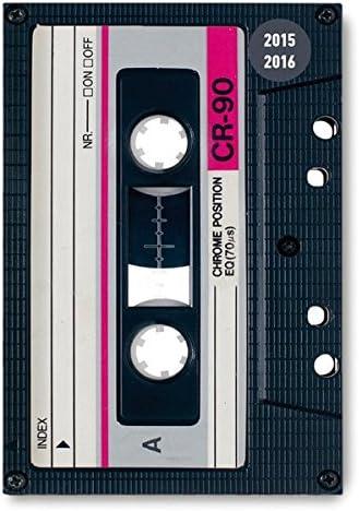 Alpha Edition 16.0668 Tape Diario Scuola Collegetimer, A6, 2015/2016, 1 Settimana Su 2 Pagine